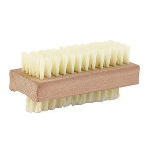 Wooden Nail Brush for at Home Pedicures using Chemical Free Nail Polish