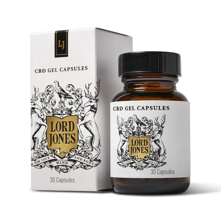 LORD JONES | CBD Gel Capsules