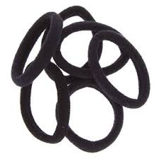AIR ROPE HAIR BAND BLACK