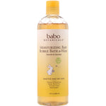 BABO BOTANICALS l Moisturizing Baby Bubble Bath & Wash