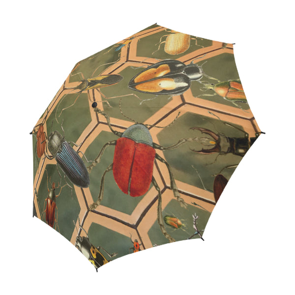 Bug Me Boo Umbrella, Semi-Automatic Foldable Umbrella - Viaggi By Jase King