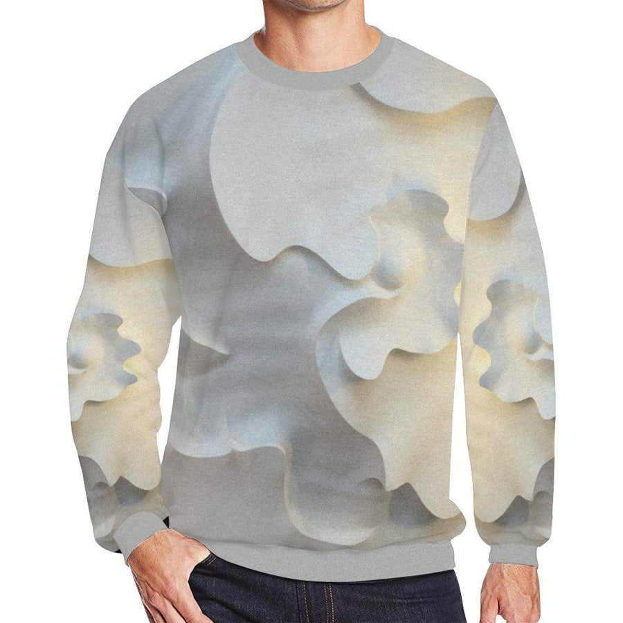 Permission To Love Fleece Sweater, Fleece Crewneck Sweaters - Viaggi By Jase King