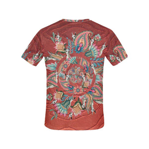 Panorama Llama / Full Print T-shirt, Crew Neck Fully Printed Tee - Viaggi By Jase King