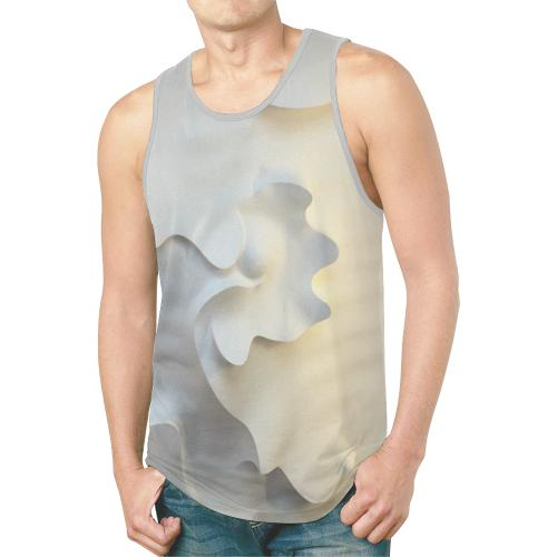 Permission To Love / Full Print Tank Top, All Over Print Tank Top - Viaggi By Jase King