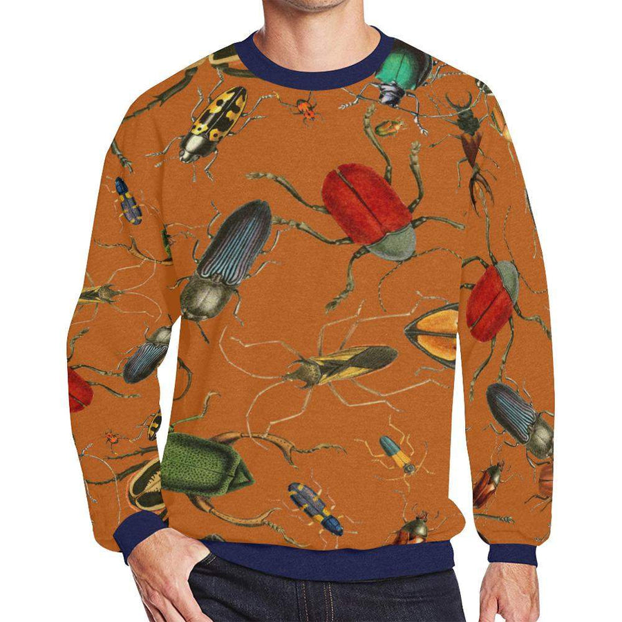 Bug Me Boo ( Desert Sand ) Fleece Sweater, Fleece Crewneck Sweaters - Viaggi By Jase King