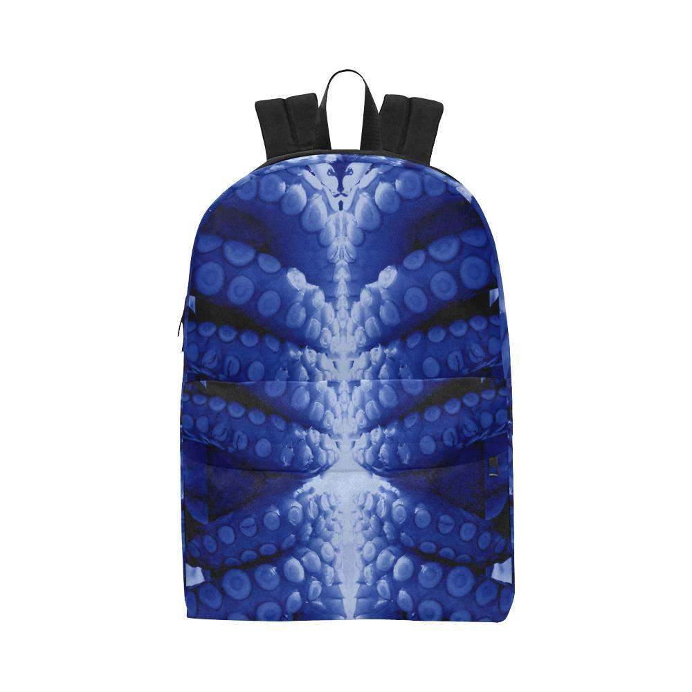 Blue Octopus Backpack, Backpack - Viaggi By Jase King