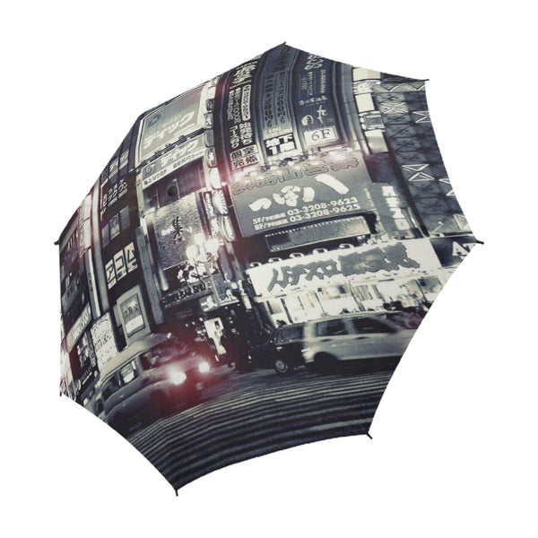Tokyo Pulse Umbrella, Semi-Automatic Foldable Umbrella - Viaggi By Jase King
