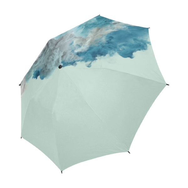 Humo Azul Umbrella, Semi-Automatic Foldable Umbrella - Viaggi By Jase King