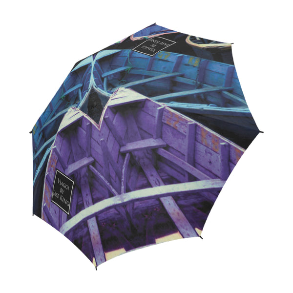 Kaleidoscope Umbrella, Semi-Automatic Foldable Umbrella - Viaggi By Jase King