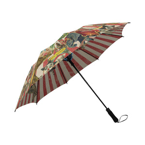 Who's Your Daddy Umbrella, Semi-Automatic Foldable Umbrella - Viaggi By Jase King