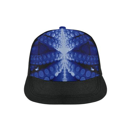 Blue Octopus Snapback Cap, snapback caps - Viaggi By Jase King