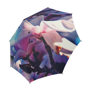 Belle Fleur Umbrella, Semi-Automatic Foldable Umbrella - Viaggi By Jase King