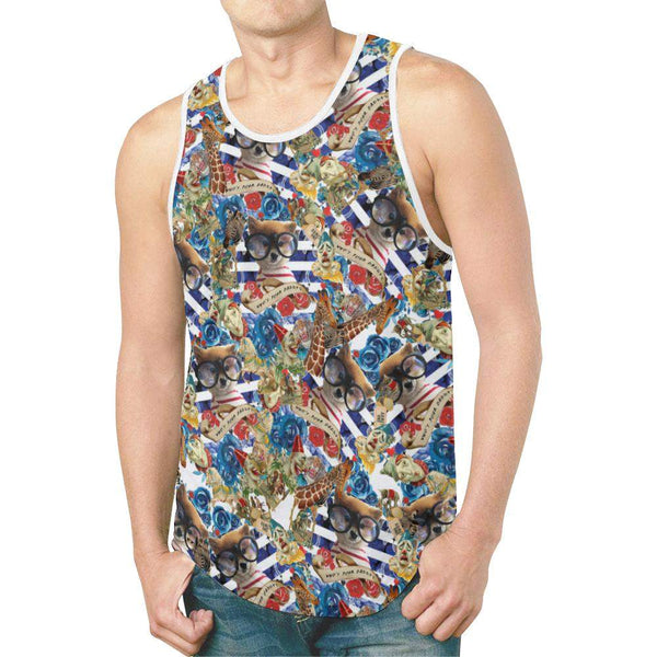 Who's Your Daddy / Full Print Tank Top, All Over Print Tank Top - Viaggi By Jase King