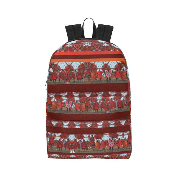 Jumping with Maasai Backpack, Backpack - Viaggi By Jase King