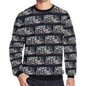 Tokyo Pulse ( Populous ) Fleece Sweater, Fleece Crewneck Sweaters - Viaggi By Jase King