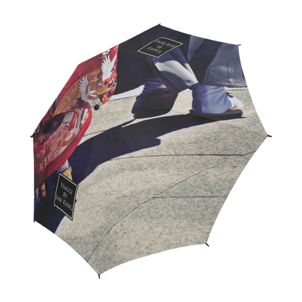 Geisha Umbrella, Semi-Automatic Foldable Umbrella - Viaggi By Jase King
