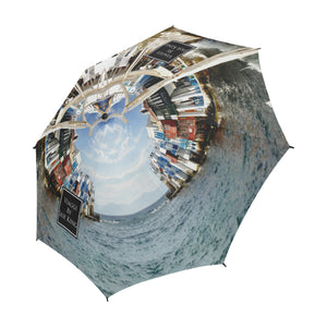 Beckoning Wonder Umbrella, Semi-Automatic Foldable Umbrella - Viaggi By Jase King