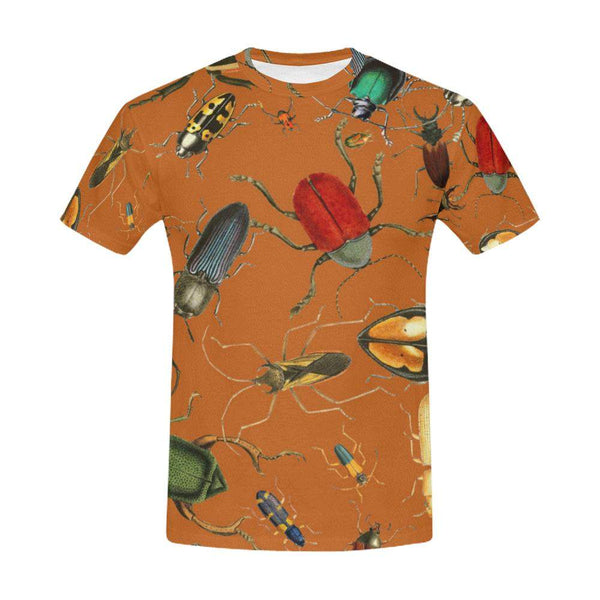 Bug Me Boo / Full Print T-shirt, Crew Neck Fully Printed Tee - Viaggi By Jase King