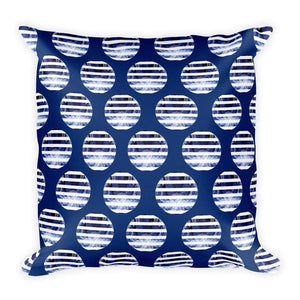 Blue Octopus Cushion Cover / Gonad, Cushion Covers - Viaggi By Jase King