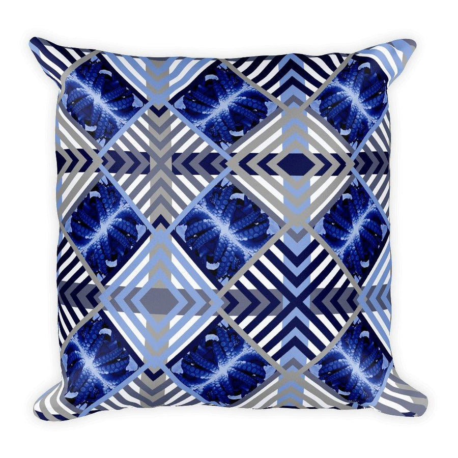 Blue Octopus Cushion Cover / Siphon, Cushion Covers - Viaggi By Jase King