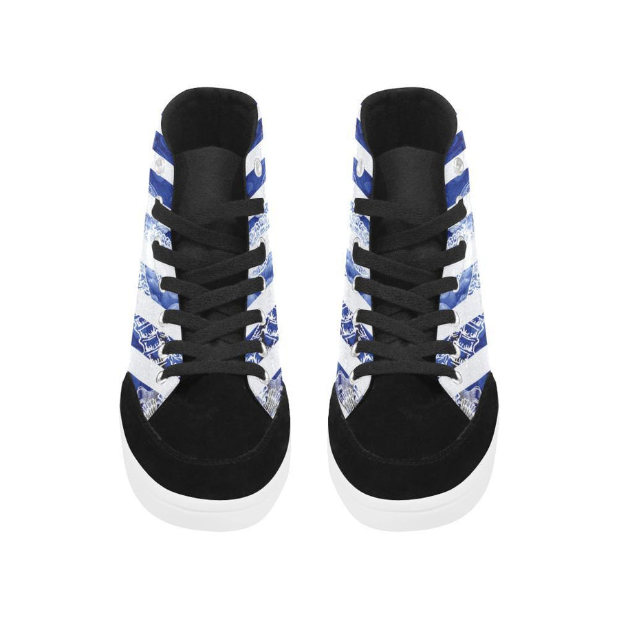Blue Octopus / Flâneur High Tops, Flâneur High Tops - Viaggi By Jase King