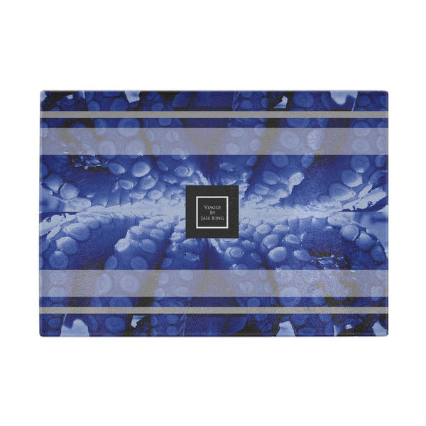 Blue Octopus Glass Cutting Board, Cutting Boards - Viaggi By Jase King