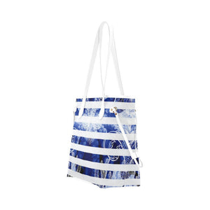 Blue Octopus / Orenda Tote, Orenda Canvas Tote - Viaggi By Jase King