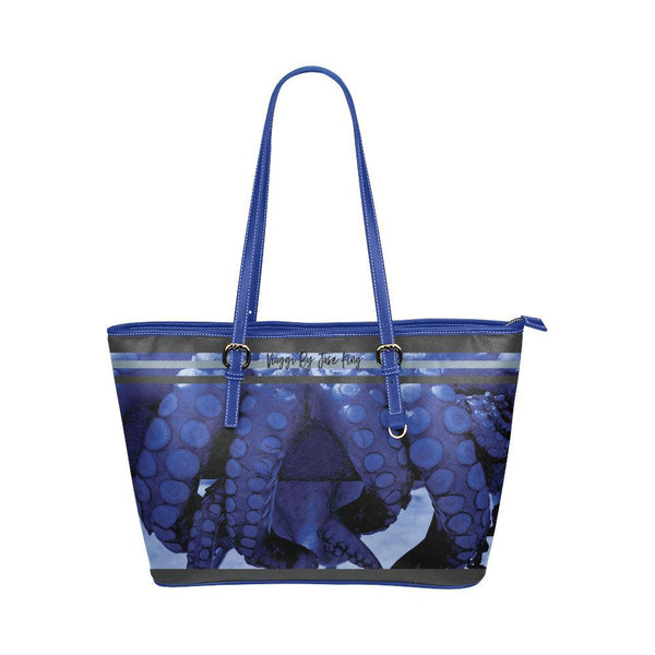 Blue Octopus / Vagary Tote, Large Vagary Tote - Viaggi By Jase King