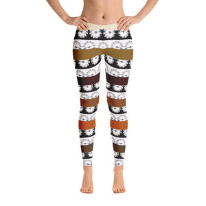 Crowned Crane / Kurēn Leggings, Leggings - Viaggi By Jase King