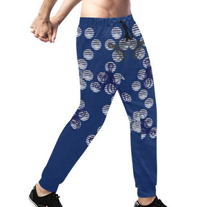 Blue Octopus ( Gonad ) Sweatpants, Sweatpants - Viaggi By Jase King
