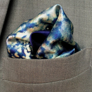 Iridescence Pocket Square, pocket squares - Viaggi By Jase King