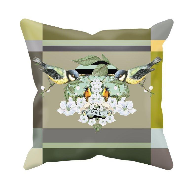 La Maison Cushion Cover / Acasă, Cushion Covers - Viaggi By Jase King