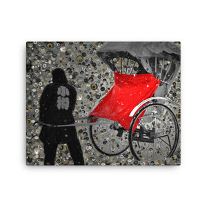 Little Red Riding Dude / Canvas Print, Canvas Prints - Viaggi By Jase King