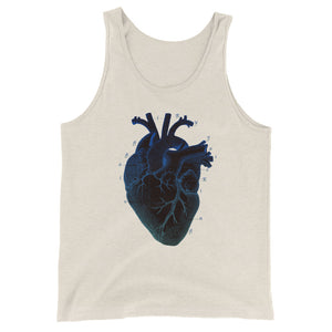 I HEART / Unisex Tank Top, Unisex Tank Tops - Viaggi By Jase King