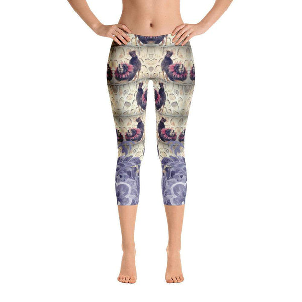The Howl Capri Leggings, Capri Leggings - Viaggi By Jase King