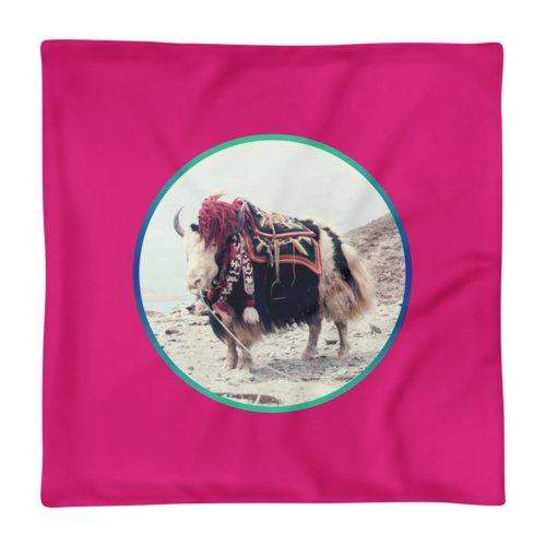 Yak Away Cushion Cover / Jaka, Cushion Covers - Viaggi By Jase King