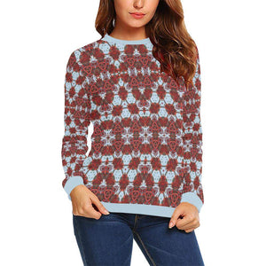 Jumping With Maasai Boxy Cut Sweater, Crewneck Sweatshirt - Viaggi By Jase King