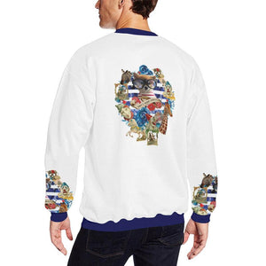Who's Your Daddy Fleece Sweater, Fleece Crewneck Sweaters - Viaggi By Jase King
