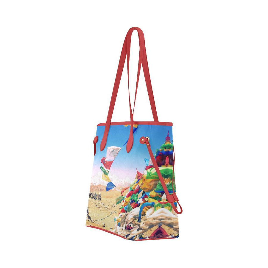 Tibetan Dreams / Orenda Tote, Orenda Canvas Tote - Viaggi By Jase King