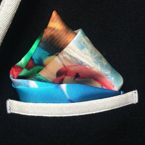 Tibetan Dreams Pocket Square, pocket squares - Viaggi By Jase King