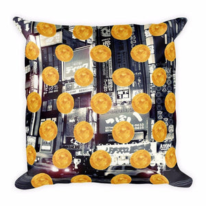 Tokyo Pulse Cushion Cover / Asuka, Cushion Covers - Viaggi By Jase King