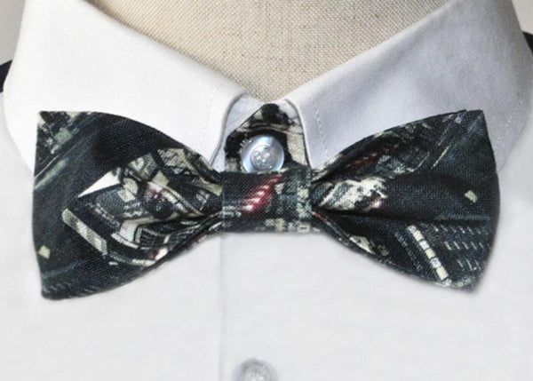 Tokyo Pulse Linen Bow Tie, Bow Tie - Viaggi By Jase King