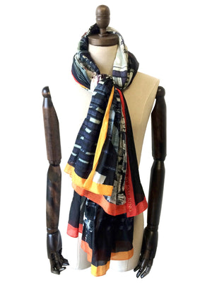Tokyo Pulse Signature Scarf, Signature Scarves - Viaggi By Jase King