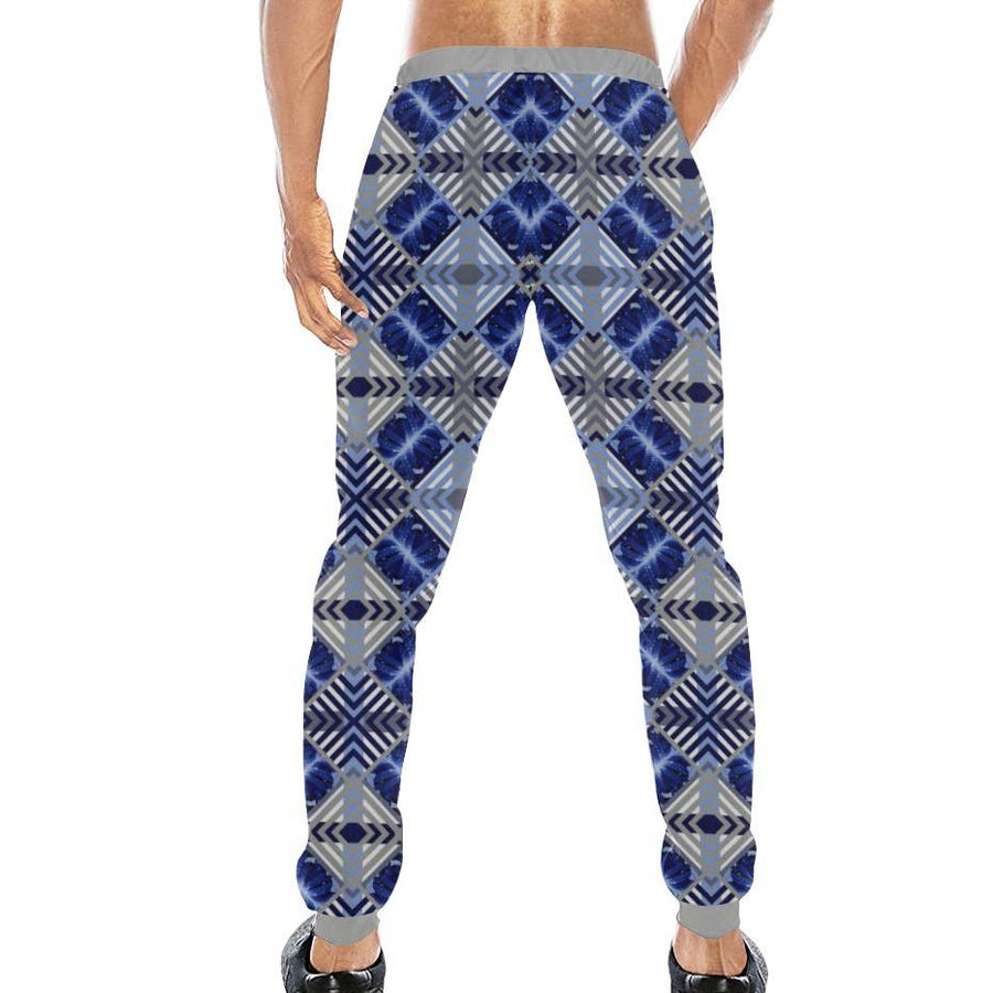 Blue Octopus ( Siphon ) Sweatpants, Sweatpants - Viaggi By Jase King
