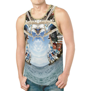 Beckoning Wonder / Full Print Tank Top, All Over Print Tank Top - Viaggi By Jase King