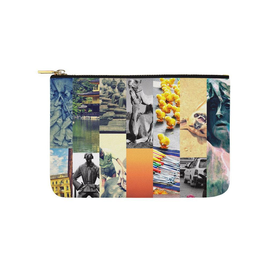 Wanderlust Pouch, Carry-All Pouch - Viaggi By Jase King