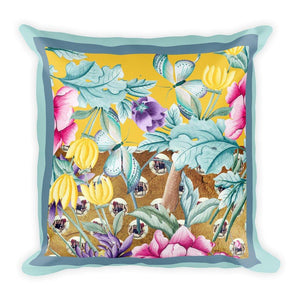 Yak Away Cushion Cover / Branco, Cushion Covers - Viaggi By Jase King