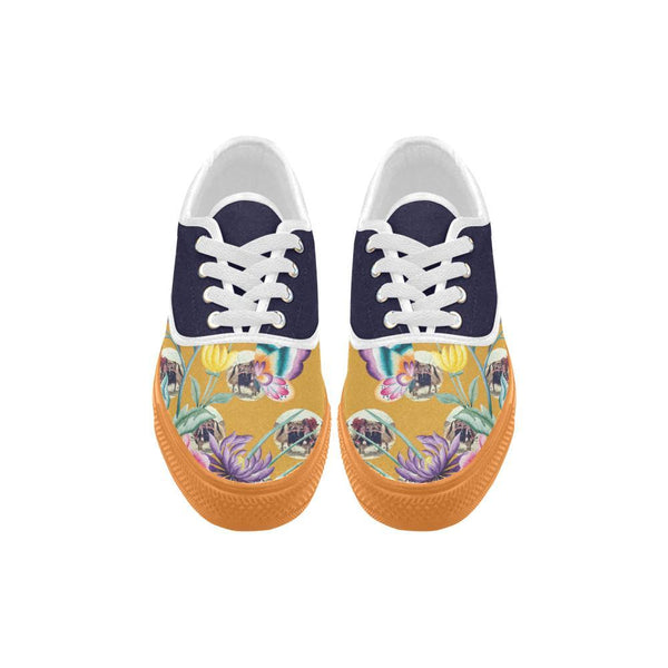 Yak Away / Yūgen Low Tops, Yūgen Canvas Shoes - Viaggi By Jase King