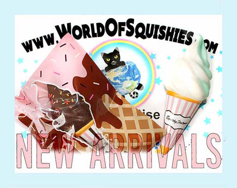 New Arrivals at World of Squshies