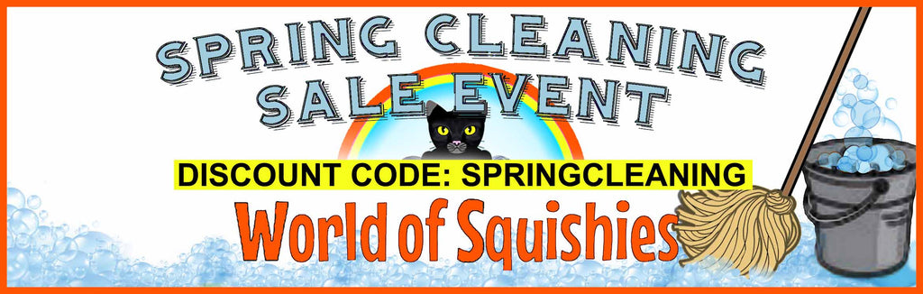 Spring Clearance Sale at World of Squishies